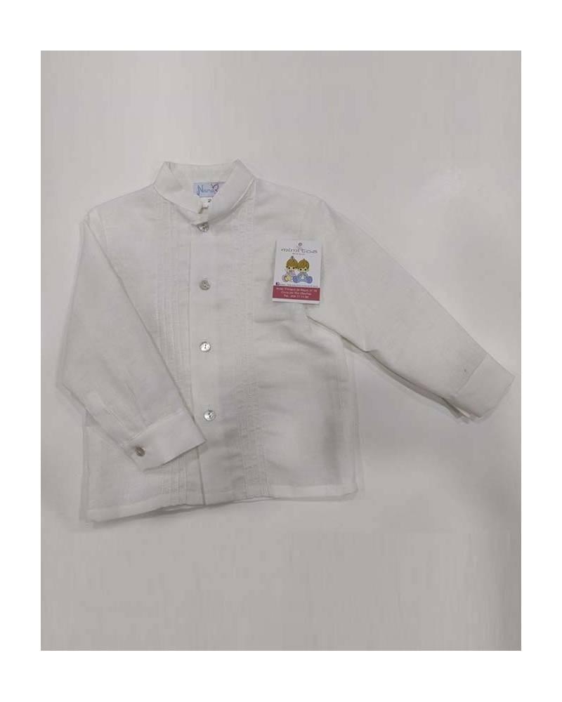 caa0dc39fa043 Camisa blanca vestir niño